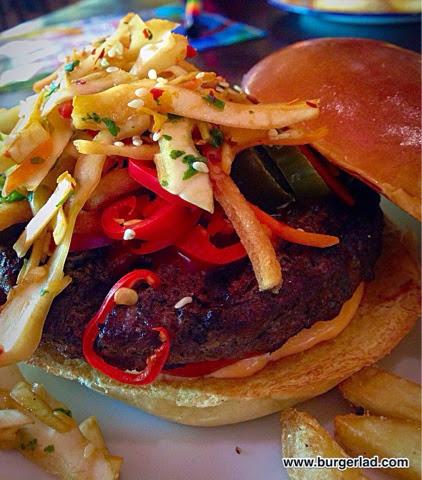 T.G.I. Friday's Bruce Lee Burger