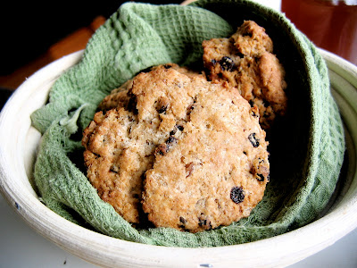 irish soda scones in a bowl