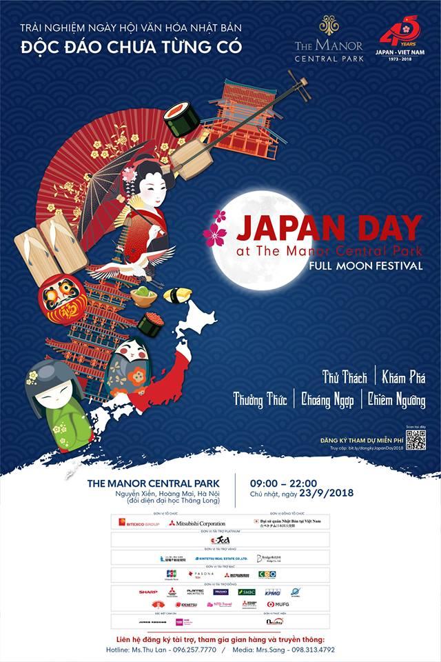 Sự kiện ngày hội văn hóa Nhật Bản tại The Manor Central Park