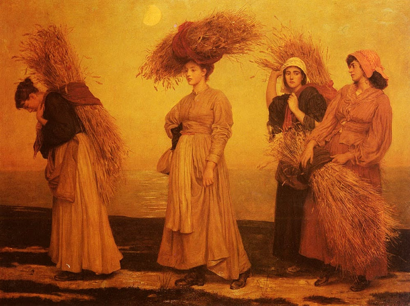 Valentine Cameron Prinsep - Home from Gleaning