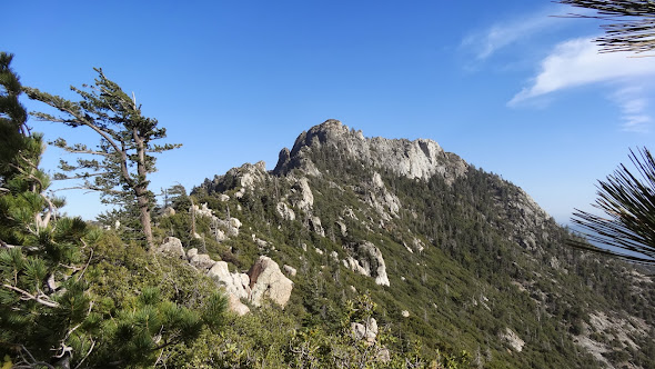 Antsell Rock from the PCT