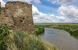 Вид с башни жванецкого замка