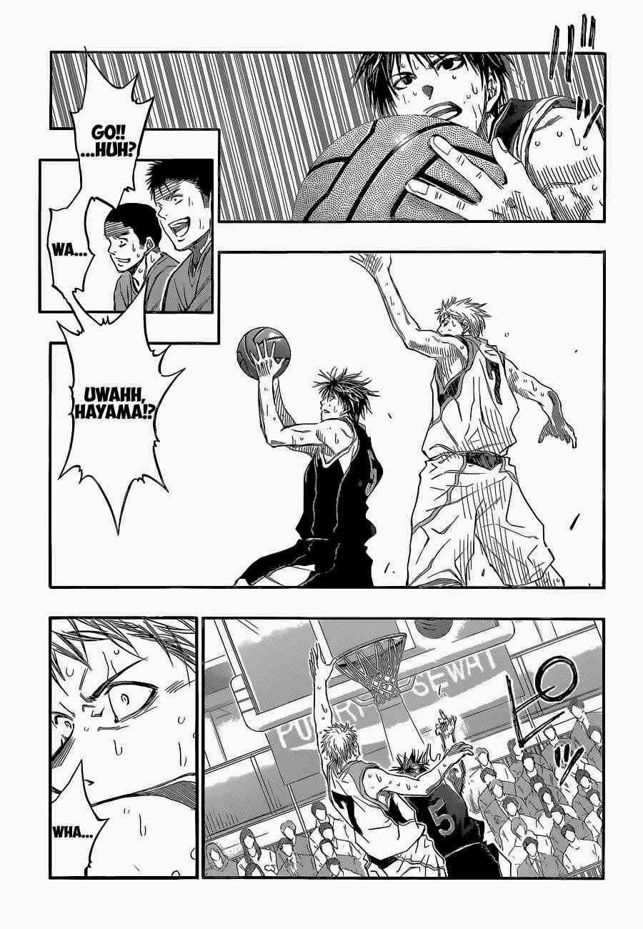 Kuroko no Basket Manga Chapter 254 - Image 15