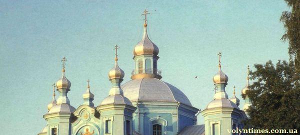 Хрести і куполи автентичного храму