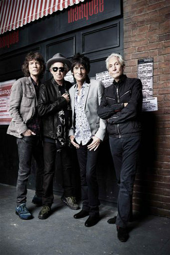 Rolling Stones celebrate 50 years on stage