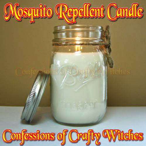Mosquito Repellent Candle Tutorial