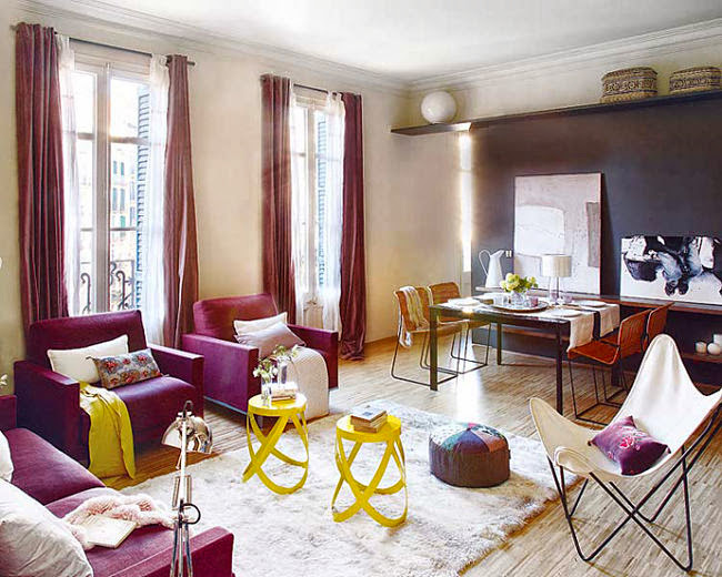 Interijeri: Prelijep opuštajuči stan u Barceloni