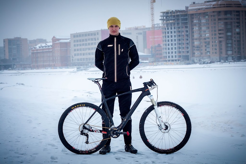 Велосипед Carbon Custom 29er - Multi-Team Race Bike - Pavel