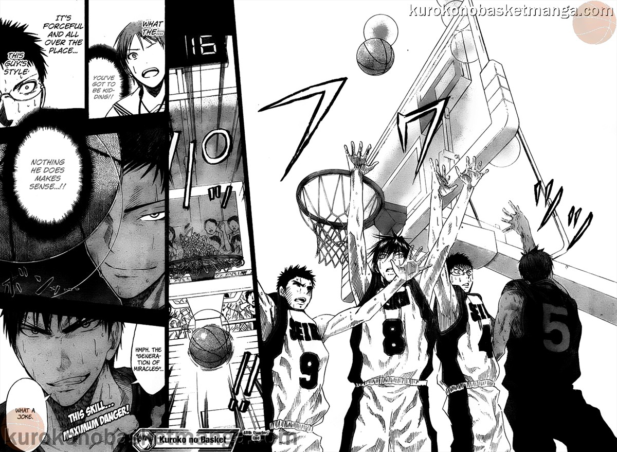 Kuroko no Basket Manga Chapter 48 - Image 18-19