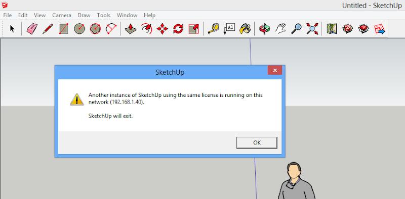 ปัญหาจากการแคร็กและการลงทะเบียน SketchUp 2013 และแนวทางป้องกัน Subrob01