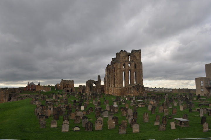 Priory and the graves