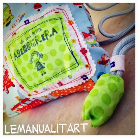 costura creativa: cartera para niña