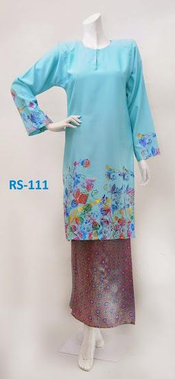 baju raya limited edition 2014 biru fesyen baju kurung terkini online murah kain songket vietnam silk
