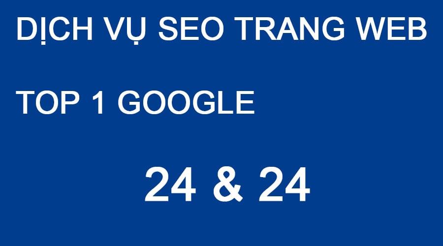 DỊCH VỤ SEO TRANG WEB TOP 1 GOOGLE TẠI HÀ NỘI