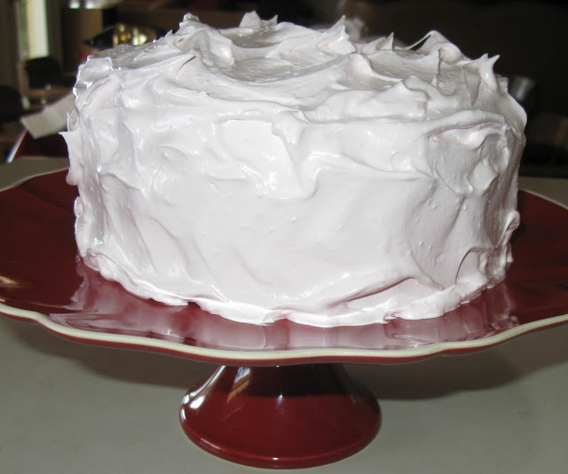 ... Kitchen: Baked Sunday Mornings: Devil's Food Cake with Angel Frosting