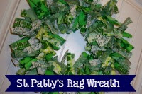 St. Patrick's Day Rag Wreath