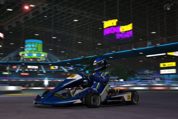 GT5 Kart Space lights