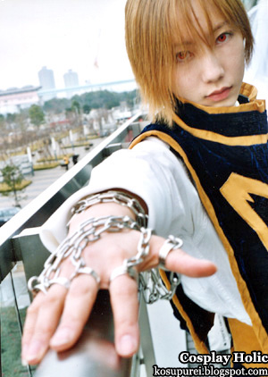 hunter x hunter cosplay - kurapika