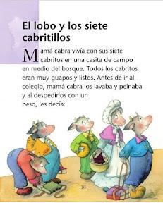 Cosillas De Infantil Cuento Los Siete Cabritillos Y El Lobo