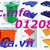 Thùng rác nhựa , pallet nhựa, thùng nhựa công nghiệp giá rẻ, siêu cạnh tranh - 01208652740 Huyền