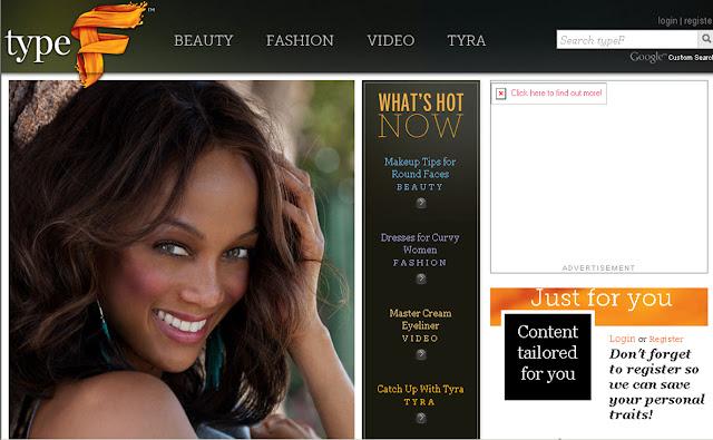 tyra banks 2011 photoshoot. Tyra Banks Type F