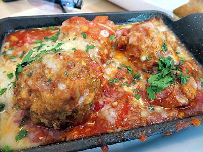 Grassa's meatball dish in Portland