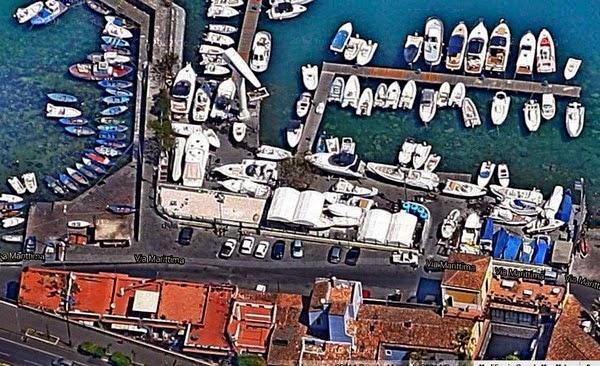 Catania, Ognina, Tortuga, a volo d'uccello