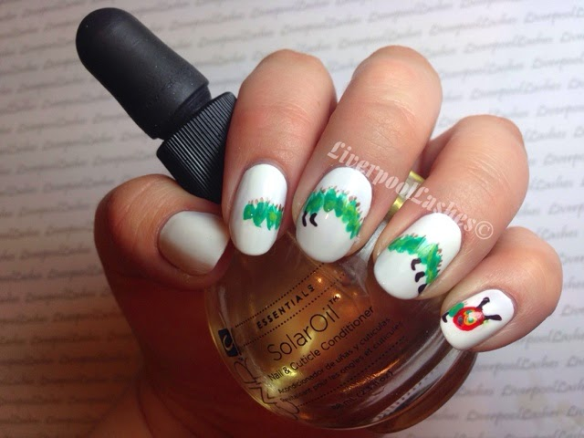 liverpoollashes liverpool lashes the very hungry caterpillar nail art beauty blogger
