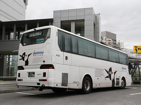 西鉄高速バス「さぬきエクスプレス福岡号」 4101 リア