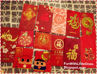 Fun with little ones cut paper art with ang pao packets for Ang pao decoration