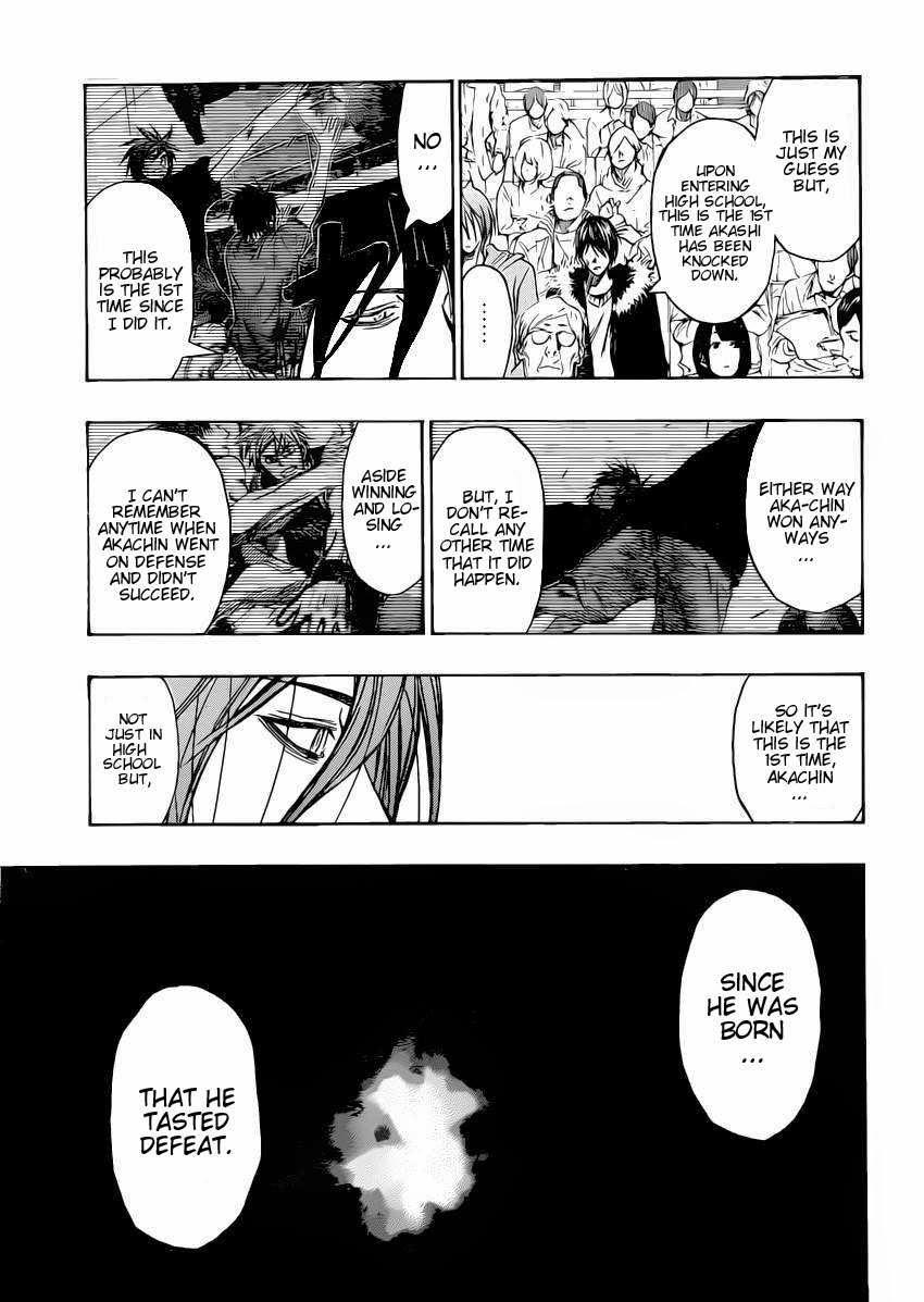 Kuroko no Basket Manga Chapter 264 - Image 15