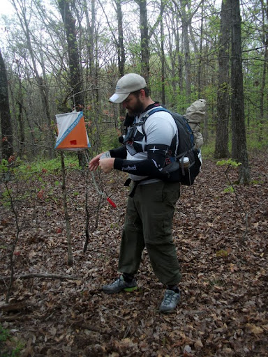 Orienteering Control at an Adventure Race