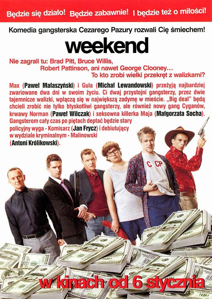 Ulotka filmu 'Weekend (tył)'