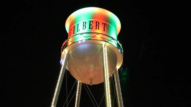 Gilbert AZ Christmas Holiday Lights - Gilbert AZ Real Estate