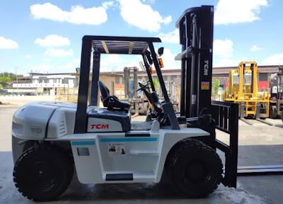 Xe nâng hàng TCM Nhật Bản 6 – 10 tấn