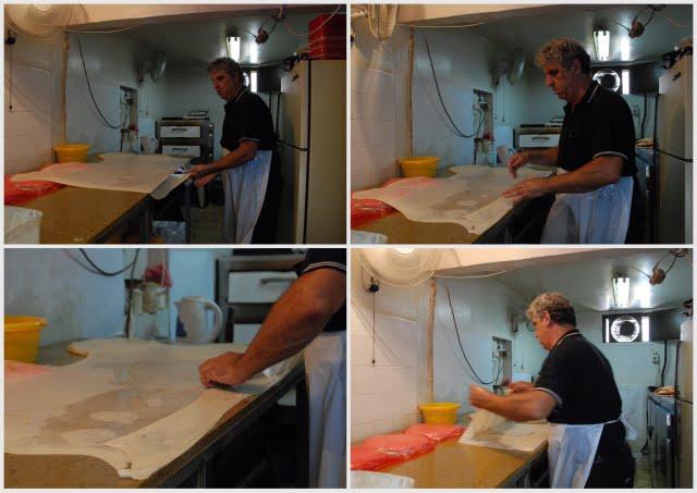 bourekas hazan, phyllo dough