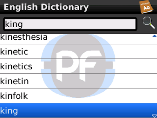 Dictionary v1.0 BlackBerry