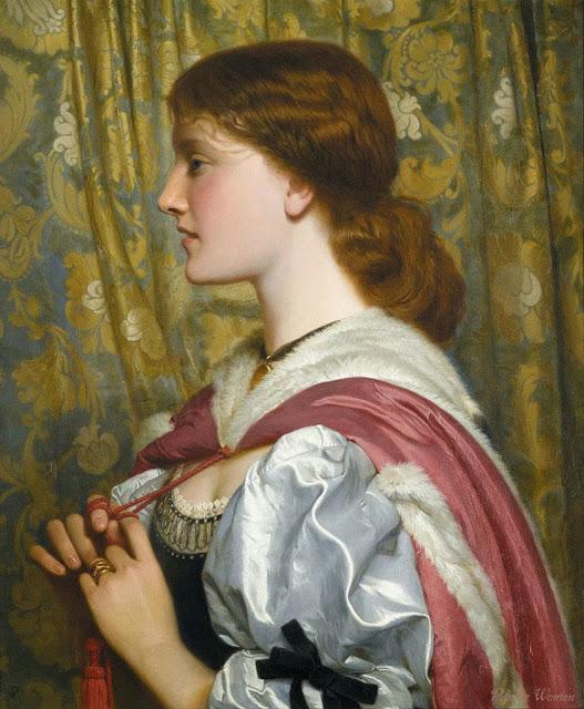 Charles Edward Perugini - Silvia circa 1870