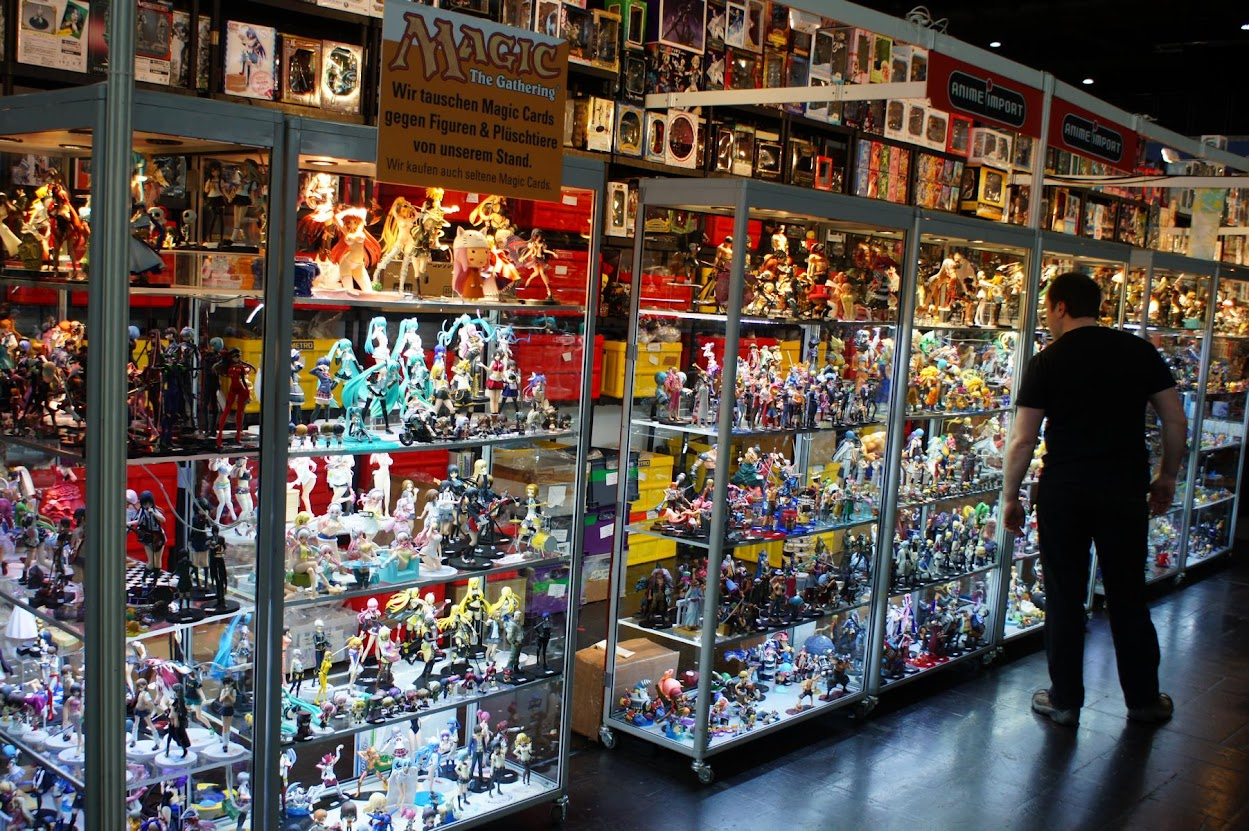 Manga Comic Convention 2015 LBM MCC Leipziger Buchmesse Cosplay Figuren