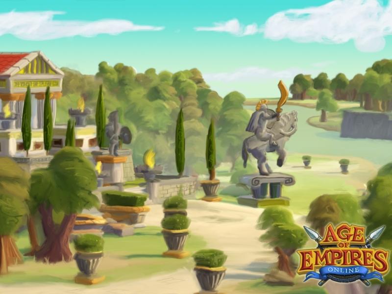 Trọn bộ hình nền của Age of Empires Online - Ảnh 6