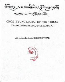 [Vitali [Hrsg.]: Chos 'byung mkhas pa'i yid 'phrog, 2012]