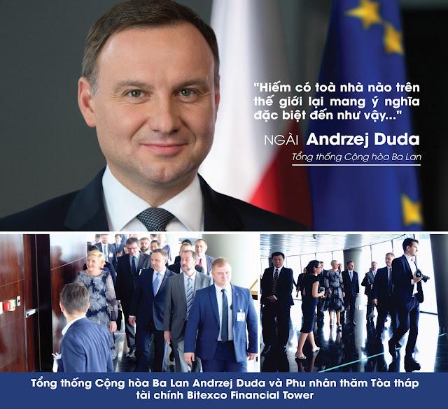 Tổng thống Andrzej Duda