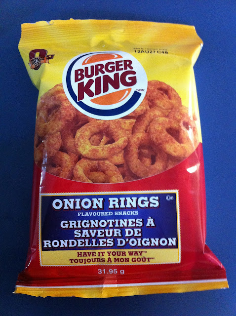 Burger King - Onion Rings - Flavoured Snacks
