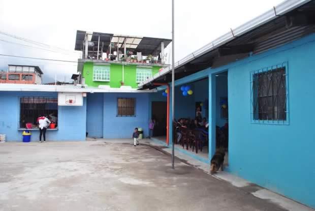 Remodelan centro educativo