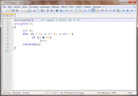 screenshot of Notepad++ programmer's text editor