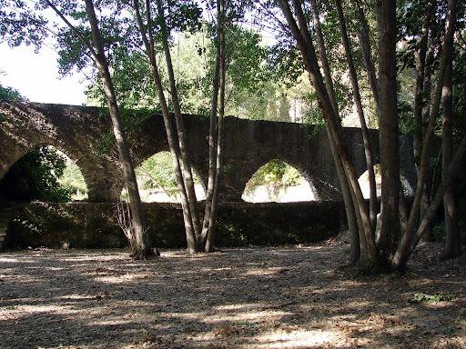 sendersimo barranc de l'Encantà: acueducto