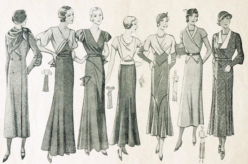 30s fashion