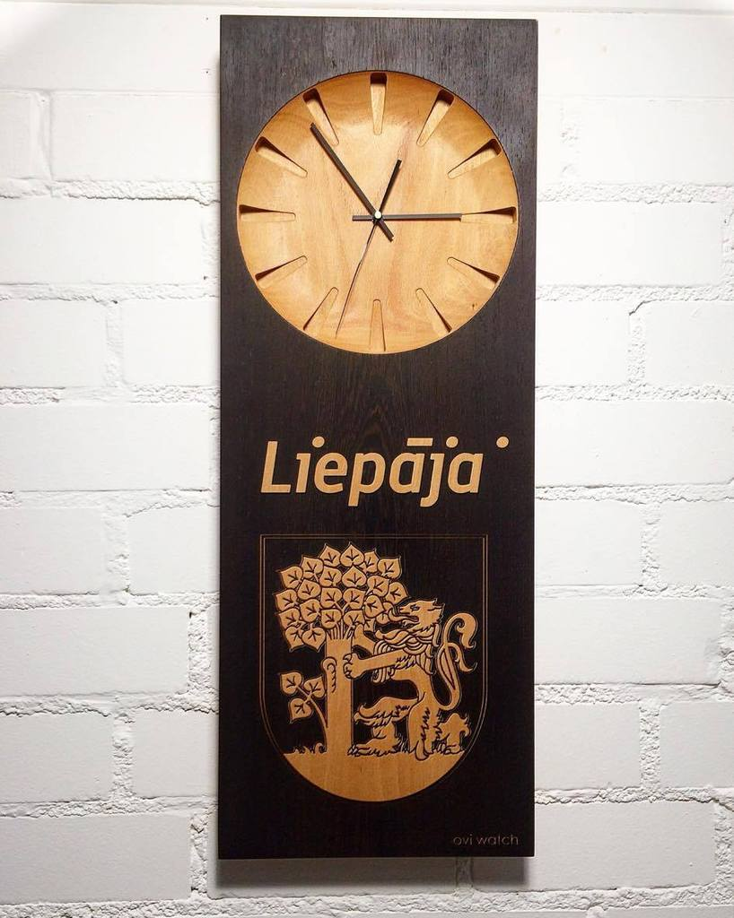 Personalized Wooden Wall Clock