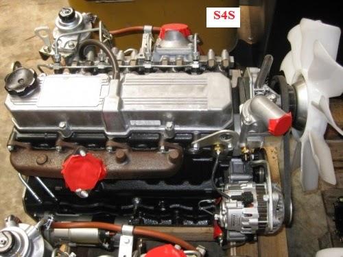 Động cơ diesel xe nâng Mitsubishi S4S