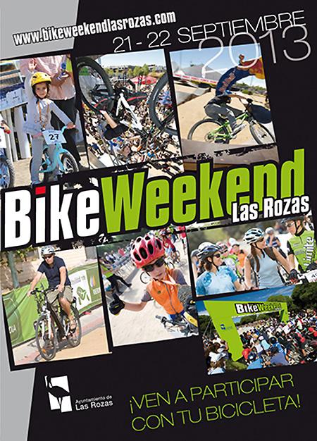 Las Rozas acogerá la I edición de BikeWeekend, los días 21 y 22 de septiembre de 2013
